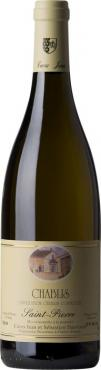 Вино Шабли Кюве Сен-Пьер / Chablis Cuvee Saint-Pierre,  Шардоне,  Белое Сухое, Франция