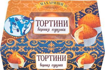 Кексы Махариши Тортини С вареной сгущенкой