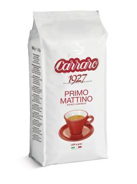 Кофе Carraro Primo Mattino в зернах 1000 гр