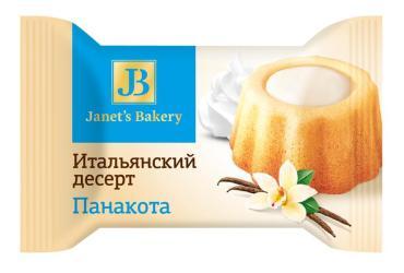 Десерт итальянский Janet's Bakery Панакота