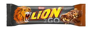 Шоколадный батончик Lion 2GO Bar Chocolate