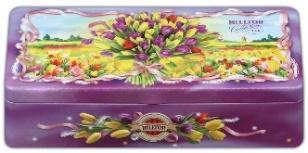 Чай Hilltop Шкатулка трио Букет тюльпанов