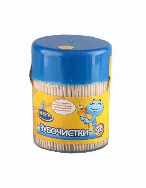 Зубочистки Celesta деревянные 500 шт