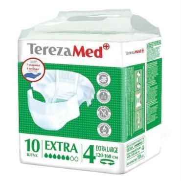Подгузники для взрослых TerezaMed Extra large 120-160см 10шт