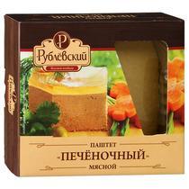 Паштет Рублевский мясной печеночный