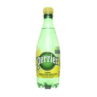 Вода Perrier минеральная газированная со вкусом лимона