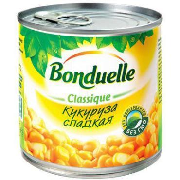 Кукуруза Bonduelle сладкая в зернах, 170 гр, ж/б