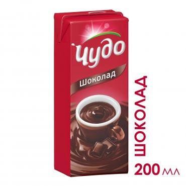 Молочный коктейль Чудо Шоколад 3%