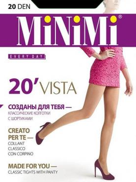Колготки MiNiMi Vista 20 Den Nero 4L