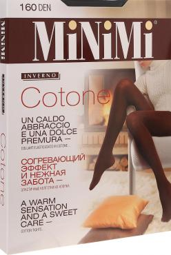 Колготки MiNiMi Cotone 160 den XL-XXL nero