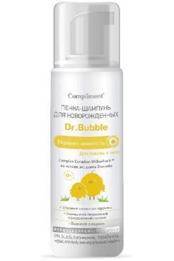 Пенка-шампунь Dr. Bubble Мамина нежность для новорожденных