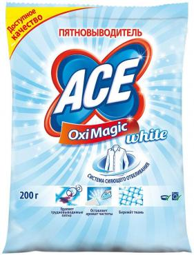 Пятновыводитель Ace Oxi Magic White