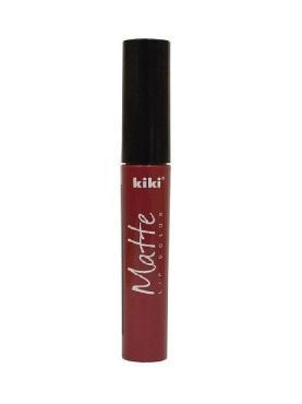Помада для губ KiKi Matte lip color жидкая 208 вишневый