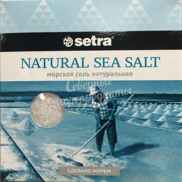 Соль Setra морская натуральная,хорватия, Россия