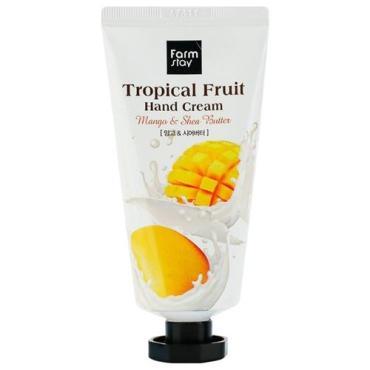 Крем для рук FarmStay Tropical Fruit Mango & Shea butter