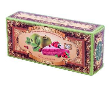 Пастила с клюквой Белевская Пастильная Мануфактура, 50 гр., картонная коробка
