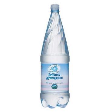Вода питьевая газированная Ледяная Жемчужина, 1,8 л., пластиковая бутылка