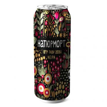 Пиво Naturmort, Chascha, 500 мл., банка