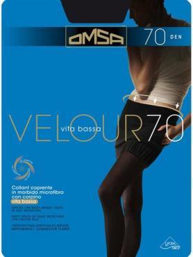 Колготки OMSA Velour  nero 70 den, размер 4