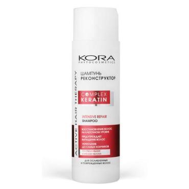 Шампунь для волос Kora реконструктор для ослабленных и поврежденных волос