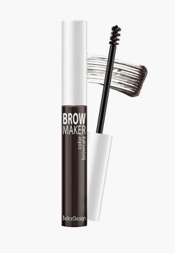 Тушь для бровей Belor Design Brow Maker тон 11 брюнет