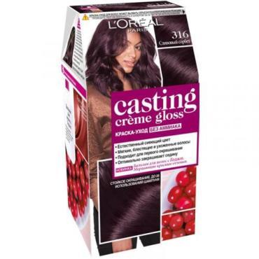 L'Oreal Краска для волос Casting Creme Gloss 316 Сливовый сорбет