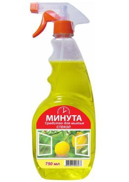 Моющее средство Минута Лимон для мытья стекол