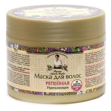 Маска для волос Рецепты бабушки Агафьи Репейная Укрепление для ослабленных волос