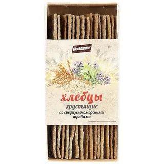 Хлебцы средиземноморские BlockBuster, 130 гр., пластиковый пакет