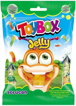 Мармелад жевательный Toybox Червячки, 80 гр., флоу-пак