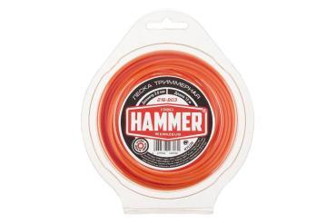 Леска триммерная 2.0мм 15м круглая Hammer 216-803, 70 гр., блистер