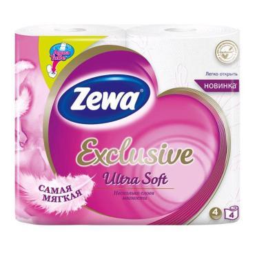 Туалетная бумага Zewa ультра софт