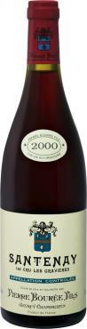 Вино 13 % 2000 года выдержанное красное сухое Pierre Bouree Fils Santenay 1er Cru Les Gravieres, Франция, 750 мл., стекло