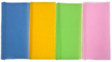 Мочалка Скраб-Нейлон ПМ Полотенце массажное для огрубевшей кожи 90*30 Vival, 40 гр., пластиковый пакет