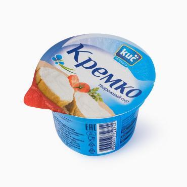Сыр творожный 45% KUČ Кремко, 100 гр., пластиковый стакан