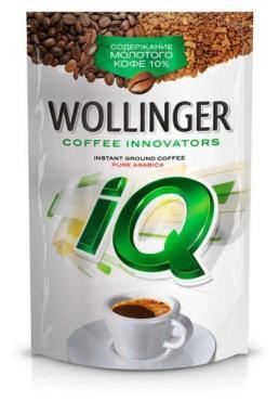Кофе молотый в растворимом Wollinger IQ, 95 гр., дой-пак