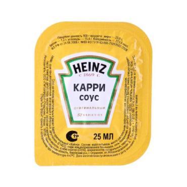 Соус Карри, Heinz,   25 гр., ПЭТ