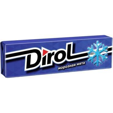 Жевательная резинка Dirol Морозная мята