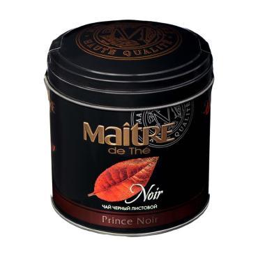 Чай Maitre de The Prince Noir черный листовой 150 гр
