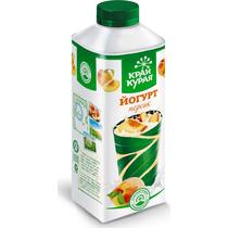 Йогурт питьевой Край Курая персик 1,5% 750 г