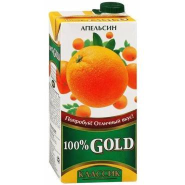 Сок Gold классика апельсин