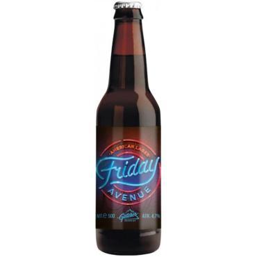 Пиво American Lager Gletcher Friday Avenue 3,3%