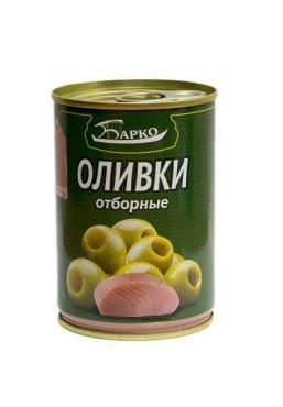 Оливки Барко с лососем