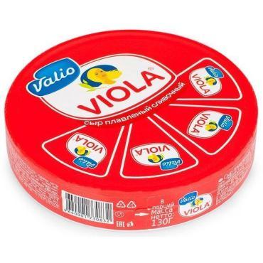 Сыр Viola плавленый треугольники 50% 130г