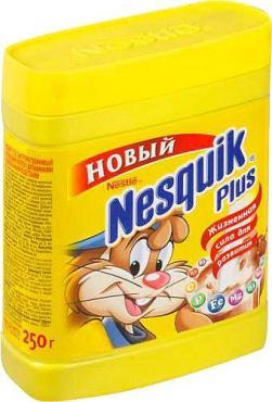 Напиток Nesquik Plus шоколадный