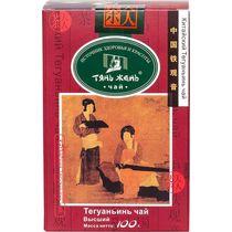 Чай Тянь-Жень Те Гуань Инь крупнолистовой зеленый