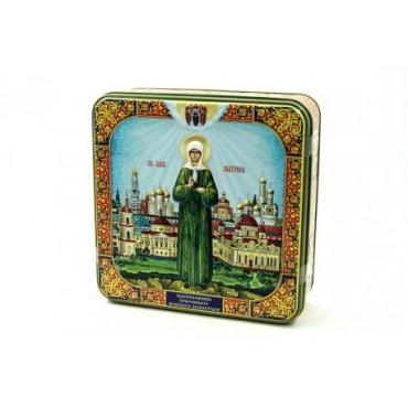 Чай Дольче Вита Святая Матрона черный и зеленый листовой 200 гр