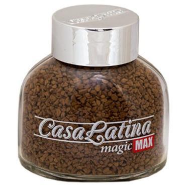 Кофе растворимый Casa Latina, Max Magic сублимированный, 85 гр., стекло
