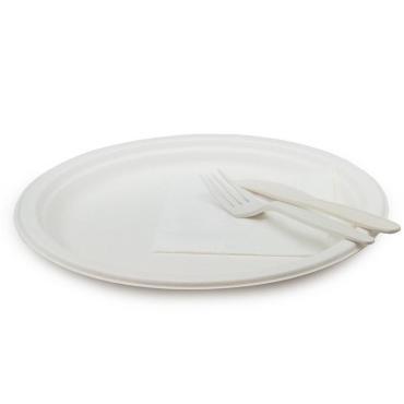 Тарелка круглая, 260 мм, белая