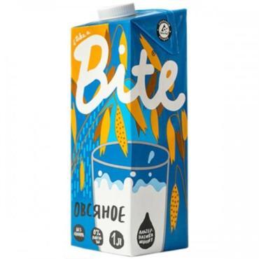Напиток растительный Овсяное молоко Bite, 1 л., тетра-пак